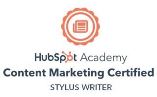 HubSpot Content marketing badge