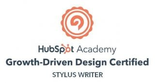 HubSpot Growth-driven Design badge