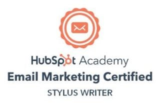 HubSpot email marketing badge