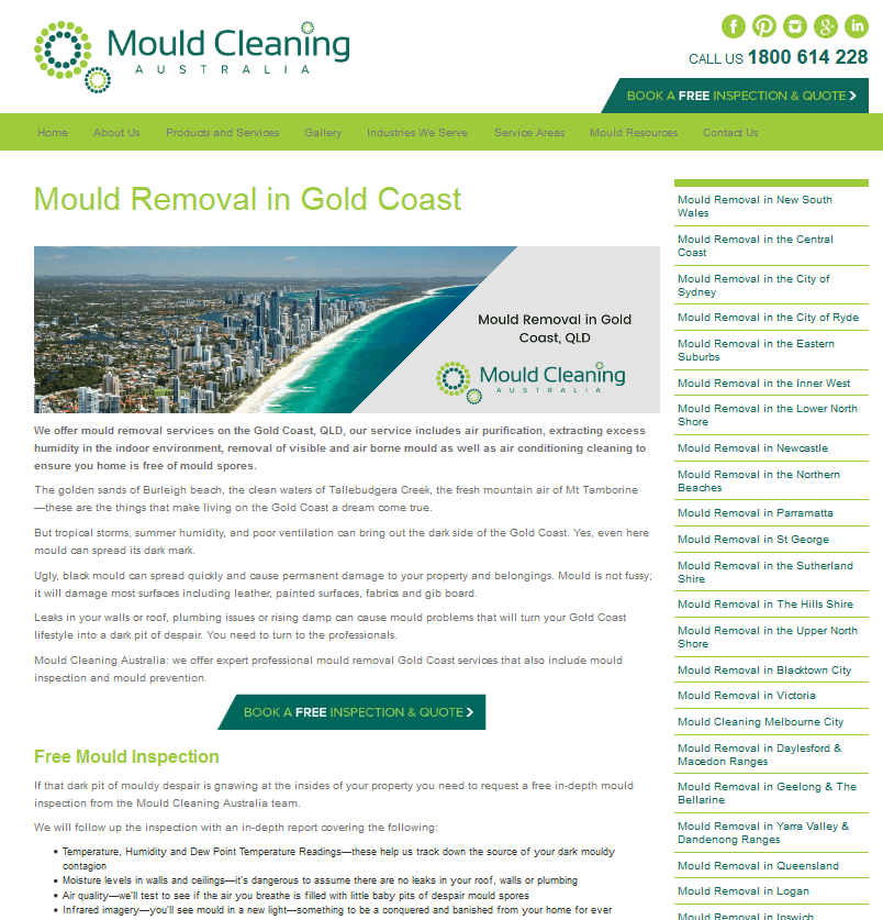 Mould Gold Coast