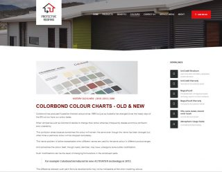 Colorbond roofin colours old