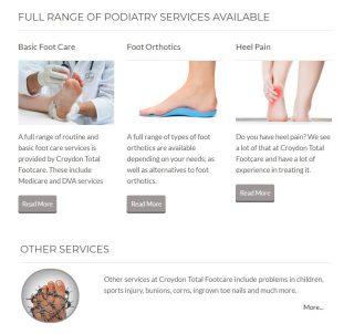Croydon podiatry