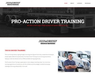 Proaction truck driver