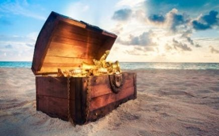 Treasure chest French language blog