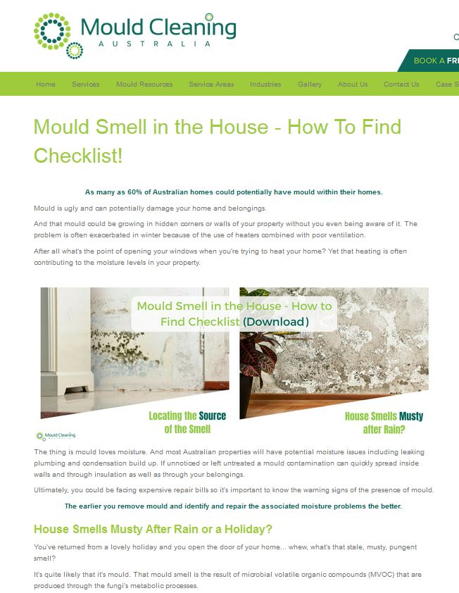 mould smell